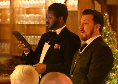Tyrone Chambers und Alex Winn Opera et Cetera Weingut Leber