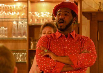 Tyrone Chambers- Opera et Cetera im Weingut Leber
