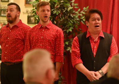 Weihnachten im Weingut Kopp mit Opera et Cetera, Alex, Philip, Keith