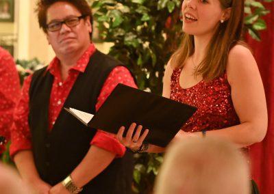 Weihnachten im Weingut Kopp mit Opera et Cetera, Hannah-Sophie Horras und Keith Ikaia Purdy