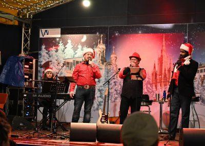 Sternschnuppenmarkt in Wiesbaden 07. Dezember 2018