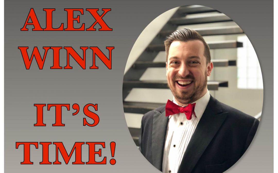 alex winn am 19.07. IT´S TIME
