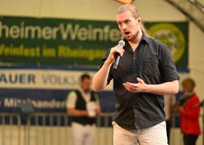 Weinfest Rüdesheim mit Opera et Cetera - Bildrechte Peter Hartmann (3)