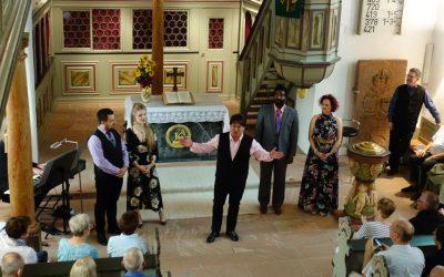 Musikalisches Feuerwerk in der evangelischen Kirche in Massenheim