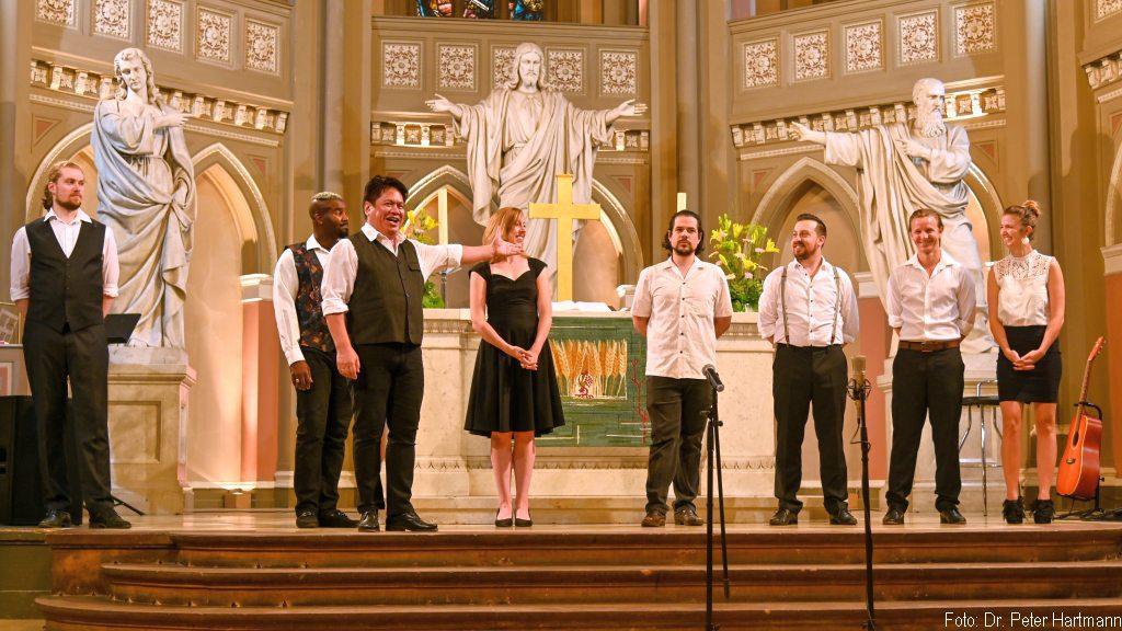 Sommer in Stadt - das erste Konzert in der Marktkirche Wiesbaden