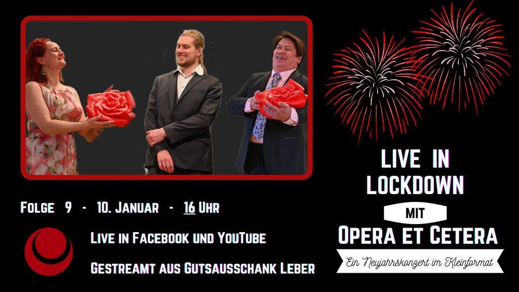 Neujahrsgrüße – Neujahrskonzert am 10. Januar – Vorstellung Jubiläums-Kalender