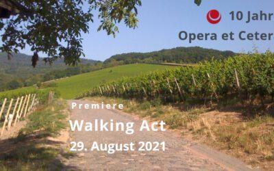 Opera et Cetera musikalisch im Walking Act über 3 Stationen