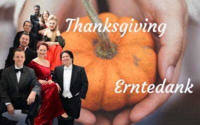 Thanksgiving und Erntedank haben etwas gemeinsam